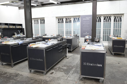 The Electrolux Cooking School at Fratelli Fresh