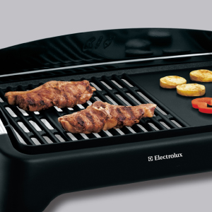Gorgeously grilled meats with EBG 200 Table Grill