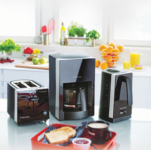 Stylist Nero Breakfast Appliances