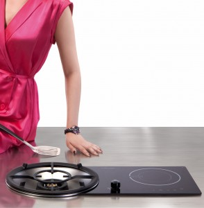 Winning Design - 2-in-1 Induction and Gas Hob