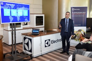 Andras Tamassy Regional Sales Director SEE Electrolux