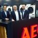 v.li. Michael Geisler (AEG), Dirk Mitsch, Geschäftsführer des Saturn-Elektromarktes in Hamburg, Martin Runschke (AEG)