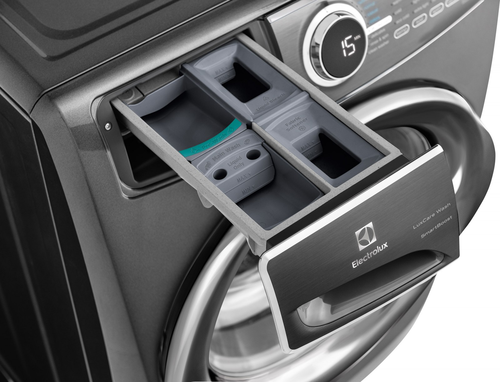 electrolux washer and dryer. Electrolux Perfect Steam™ Washer With LuxCare™ Wash And SmartBoost™ Dryer E